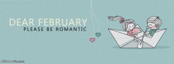 Romantic February Facebook Covers