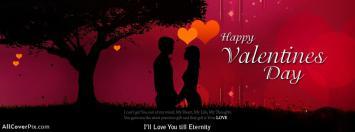 Romantic Valentines Day Facebook Cover