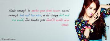 Smile Girl Facebook Timeline Cover Photos