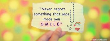 Latest Smile Quote Fb Cover Photos