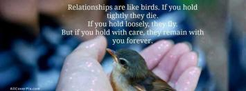 Relationship Quote Facebook Cover