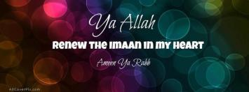 Renew Imaan Facebook Cover