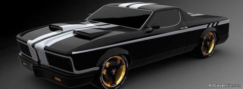Awesome Black Car Cover Photo -  Facebook Covers