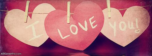 Amazing Love and Hearts Cover Photos -  Facebook Covers