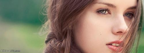 Girls Eyes with face FB Cover Photos -  Facebook Covers