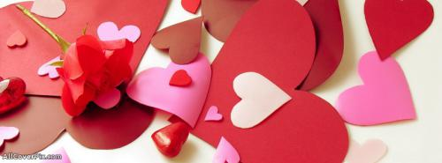 Cool Love and Hearts Cover Photos -  Facebook Covers