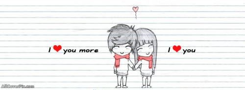 Love in Sketches Cover Photos -  Facebook Covers