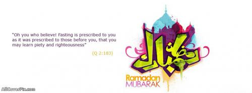 Ramadan Mubarak Fb Cover Photos -  Facebook Covers