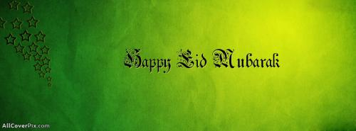 Eid Mubarak FB Covers 2013 -  Facebook Covers