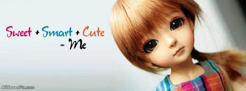 Cute Little Dolls Cover Photos -  Facebook Covers