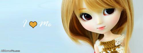 Cute and Sweet Little Dolls Cover Photos -  Facebook Covers