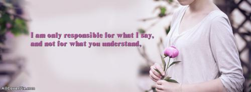 Latest Cover Photos Of Beautiful Flowers With Best Quotes -  Facebook Covers