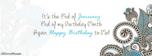 Birthday Months Jan 2 June Wishes Cover Photo -  Facebook Covers