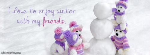 Cute Friends FB Cover Photos -  Facebook Covers