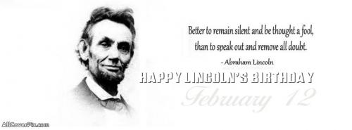 Abraham Lincoln Birthday Covers for Facebook -  Facebook Covers
