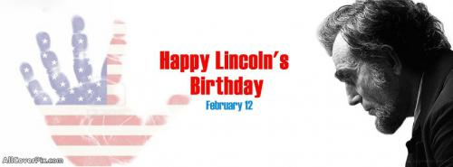 Abraham Lincoln Birthday FB Covers February 12 -  Facebook Covers