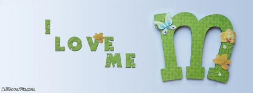 Alphabet M Cover Photo for Facebook -  Facebook Covers