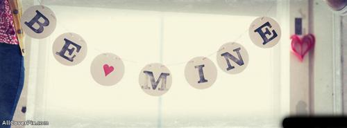 Be Mine Facebook Cover Photos -  Facebook Covers