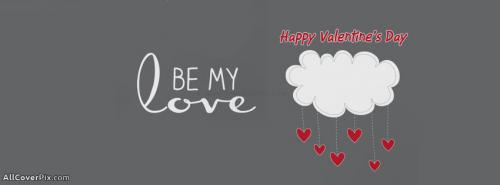 Be My Love Valentines Day FB Covers -  Facebook Covers