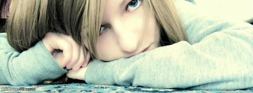 Beautiful Blue Eyes Girl Cover Photos For Fb -  Facebook Covers
