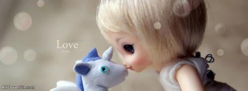 Beautiful Cute Dolls Facebook Cover Photos -  Facebook Covers