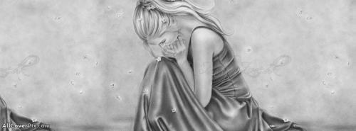 Beautiful Girl Art Cover Photo fb -  Facebook Covers