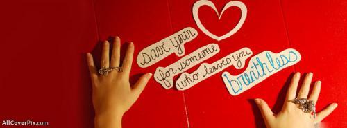 Beautiful Love Heart Fb Cover Photos -  Facebook Covers