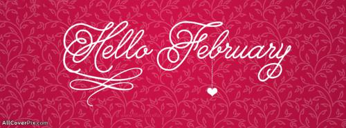 Best Hello February Facebook Covers -  Facebook Covers