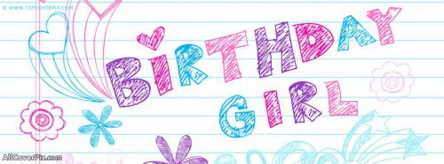 Birthday Girl Facebook Cover Photo -  Facebook Covers