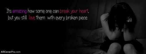 Broken Heart Facebook Girls Cover Photos -  Facebook Covers