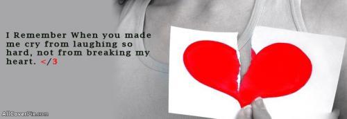 Broken Heart Quotes Fb Cover Photos -  Facebook Covers