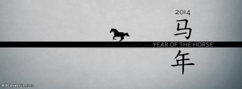 Chinese New Year 2014-Year of Horse FB Covers -  Facebook Covers