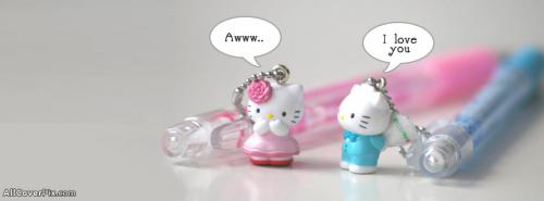 Cute Couple Kitty Cover Photos Facebook Timeline -  Facebook Covers