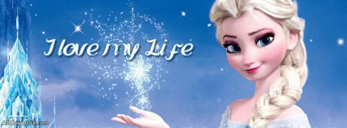 Cute Elsa frozen fb Cover -  Facebook Covers