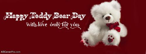 Cute Happy Teddy Day Covers For Facebook -  Facebook Covers