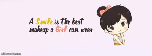 Cute Little Girl Facebook Cover Photo -  Facebook Covers