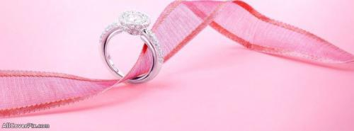 Cute Lovely Diamond Ring Cover Photos For Facebook -  Facebook Covers