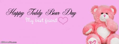 Cute Teddy Day 2014 FB Timeline Covers -  Facebook Covers