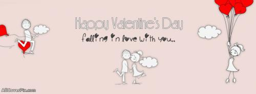 Cute Valentines Day Facebook Covers -  Facebook Covers