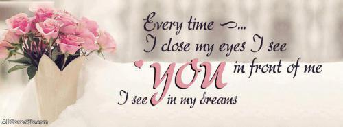 Dream Love Facebook Cover Photos -  Facebook Covers