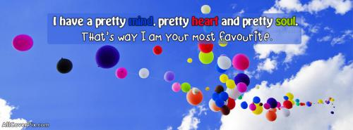 Facebook Cover of I am Your most favourite -  Facebook Covers