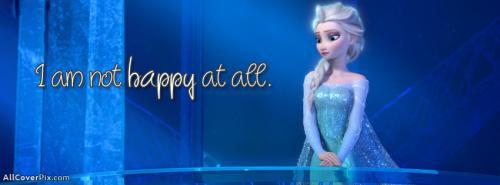 Frozen Movie Elsa Facebook Cover -  Facebook Covers