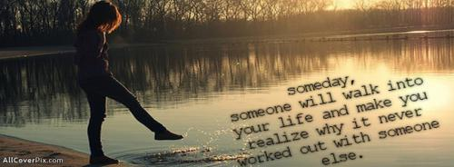 Girl Cover Photo With Sad Quote -  Facebook Covers
