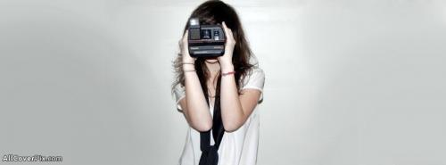 Girl With Camera Cover Photos Facebook -  Facebook Covers