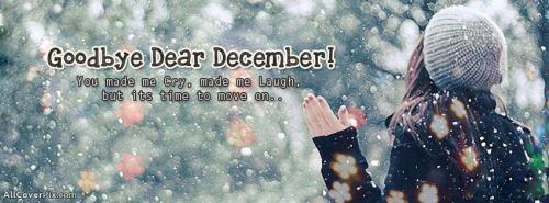 Goodbye December FB Cover Photos -  Facebook Covers