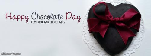 Happy Chocolate Day 2014 Covers Facebook -  Facebook Covers