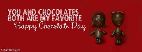 Happy Chocolate Day Covers For Facebook -  Facebook Covers