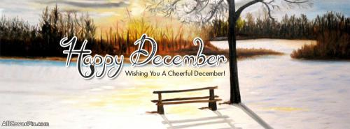 Happy December FB Cover Photos -  Facebook Covers