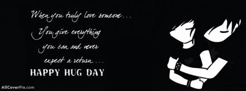 Happy Hug Day 2014 Facebook Covers -  Facebook Covers