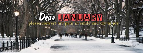 Happy January Facebook Cover Photos -  Facebook Covers